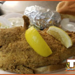 Catfish Dinner with Baked Potato Special on Fridays
