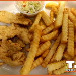 Emily's Chicken Strip with French Fries & Homemade Cole Slaw