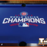 Enjoy Our New Cubs World Champions Pool Table in our East Peoria Beer Garden!