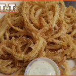 Breaded Onion Rings with Ranch at TNT