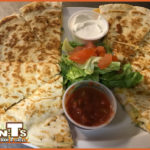 QB's Quesadillas at TNT's