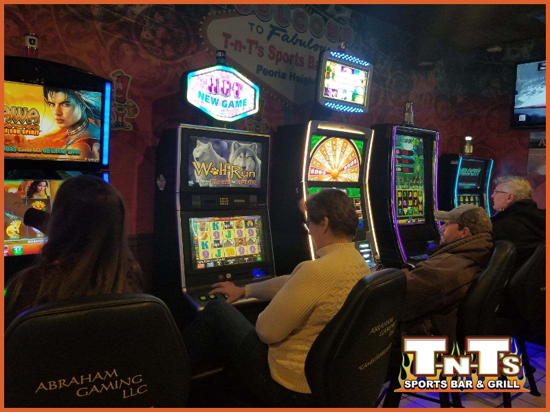 Video Gaming - Slots - Poker Machines TNT's Sports Bar & Grill