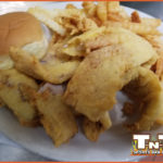 Walleye with French Fries Special at TNT